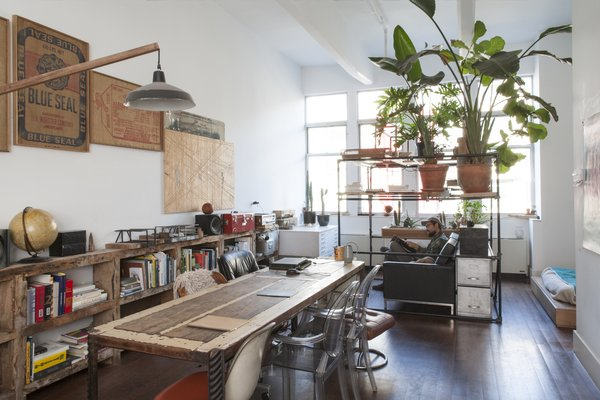 Huy Bui's Brooklyn Loft Is Like a Self-Contained Jungle