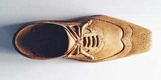 Maximalist Auteur Jonathan Adler Explains the Giant Wooden Shoe on His Desk