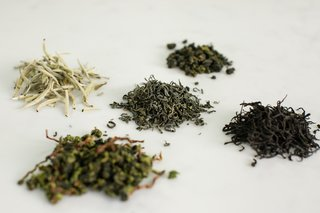 Selected teas from Spirit include black, green, white, and oolong varieties.