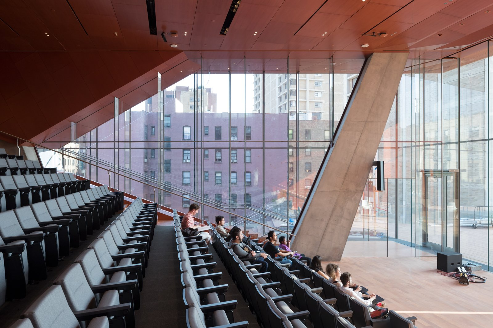 The auditorium includes 275 seats for lectures and concerts.  Photo 4 of 4 in Design Diagnosis: Back to School