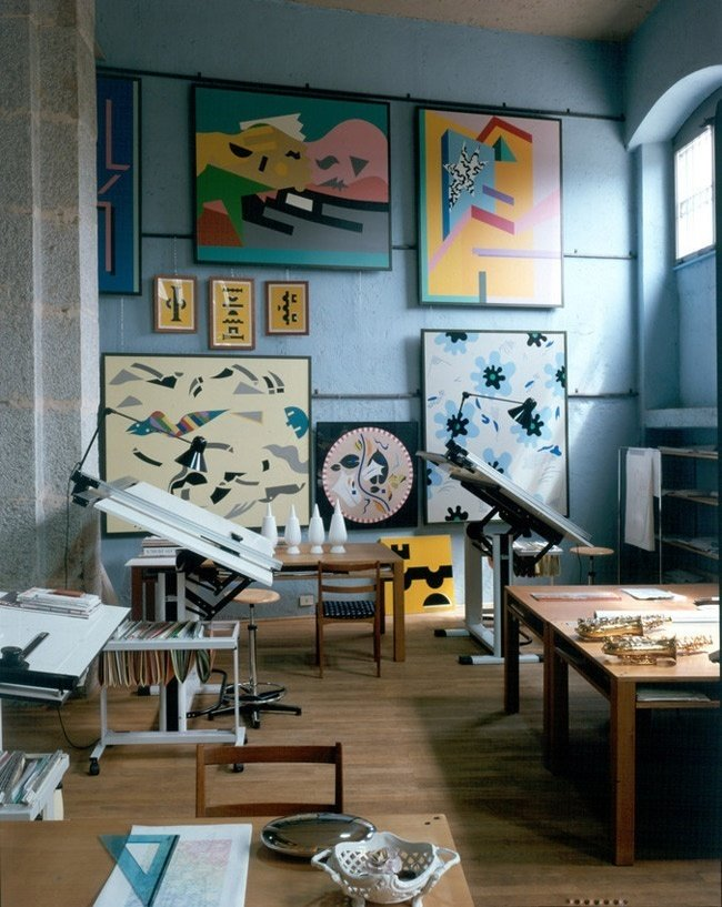 Interiors from Alessandro Mendini