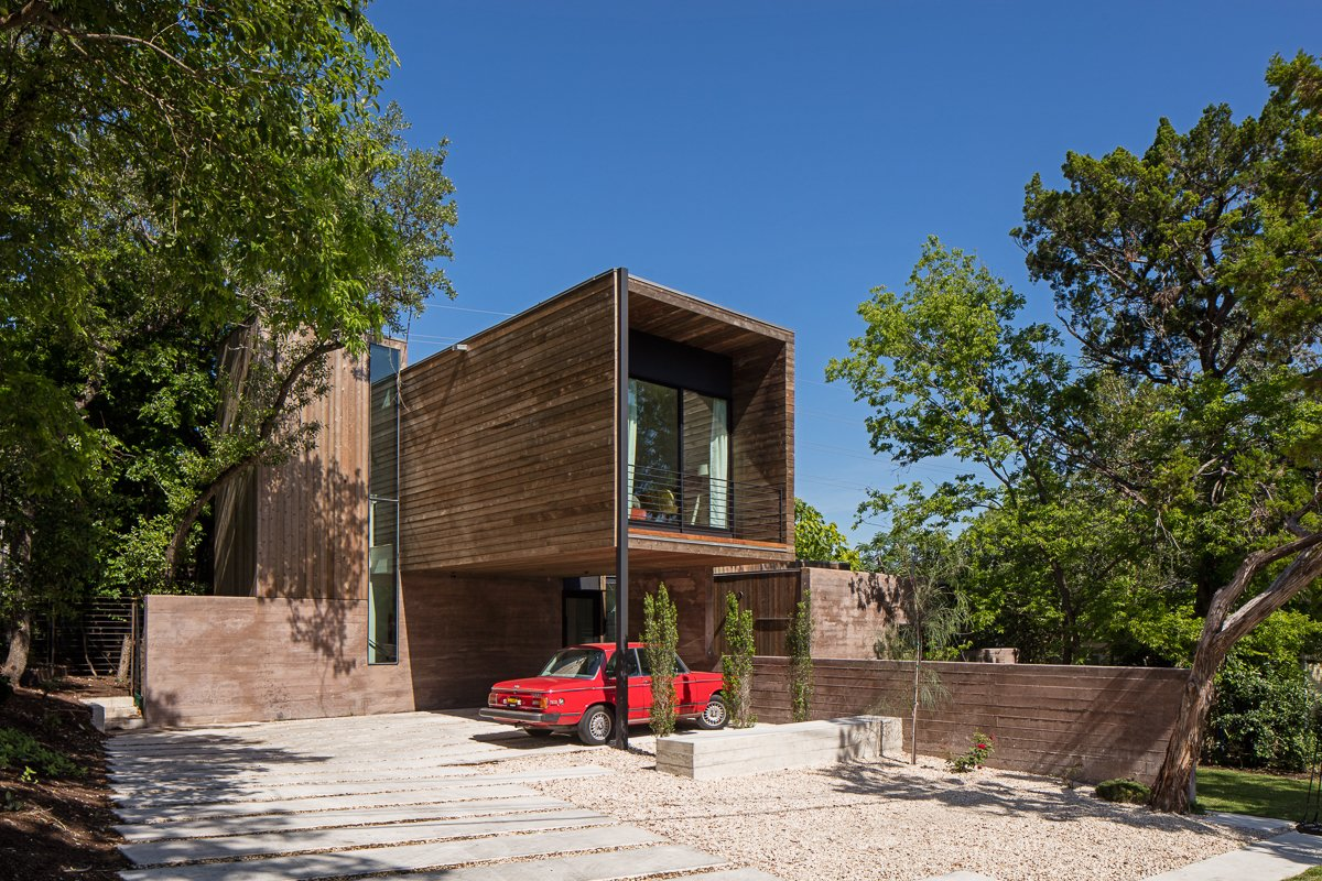 Outdoor, Front Yard, and Pavers Patio, Porch, Deck  Tetra House by Bercy Chen Studio