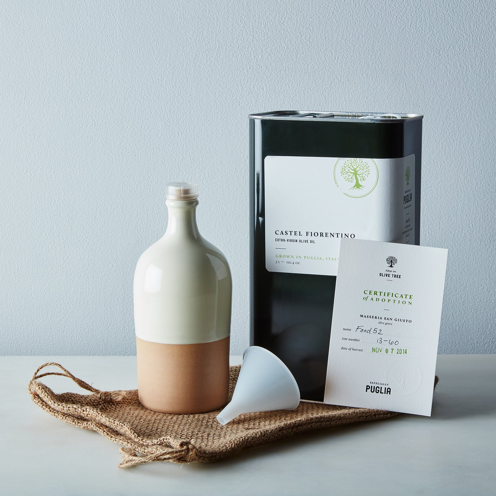 Photo 1 of 1 in Adopt an Olive Tree Gift Box + Subscription