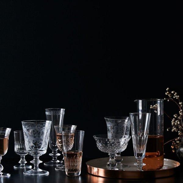 Bee's Nest Vintage Italian Crystal Glassware