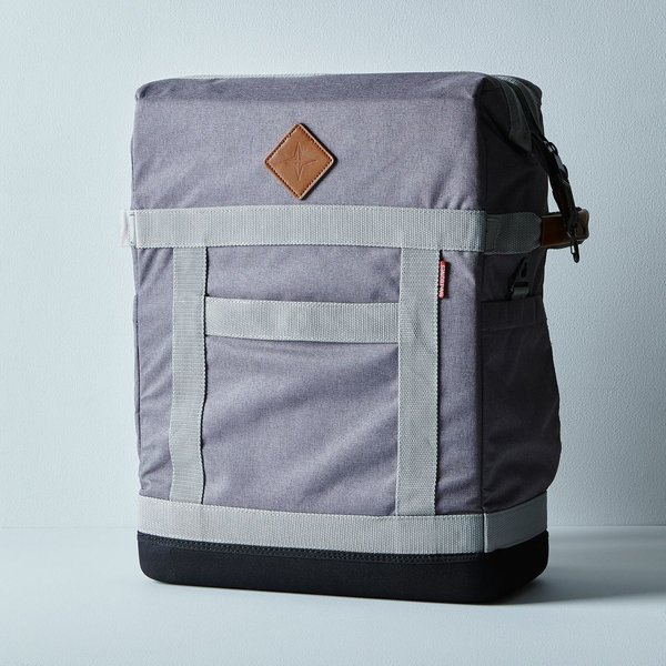 Nylon & Leather Backpack Cooler