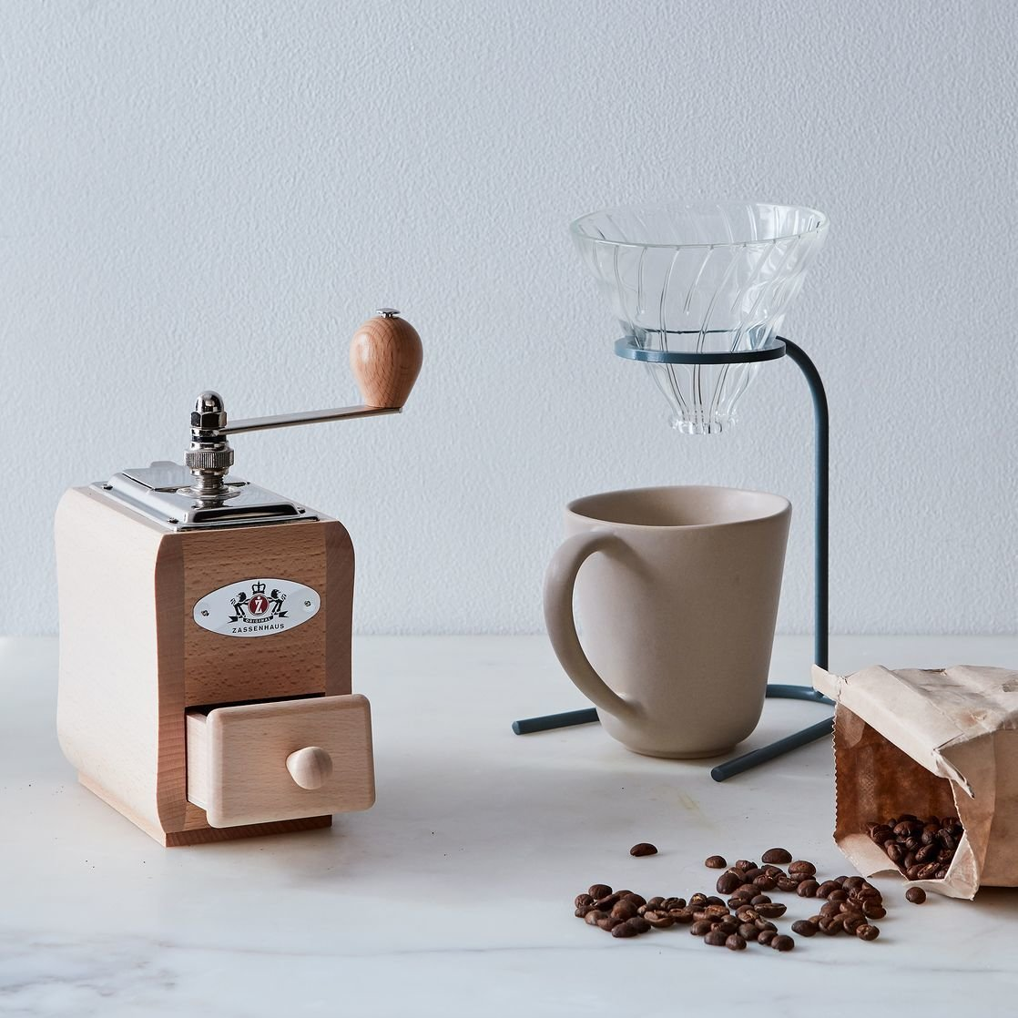 Base Modern Minimalist Coffee Pour-Over Stand By Food52