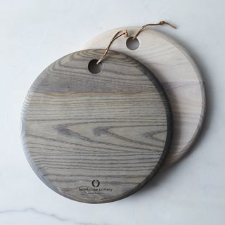 Farmhouse Pottery Handcrafted Wood Cheese Board