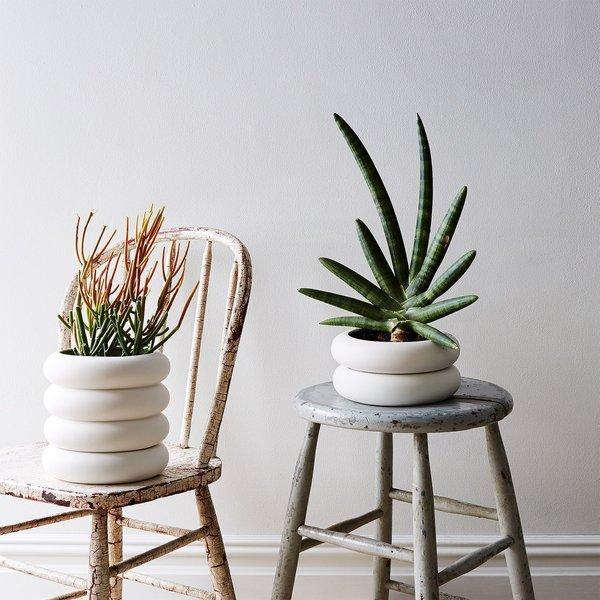 Chen Chen and Kai Williams Stacked Porcelain Planter