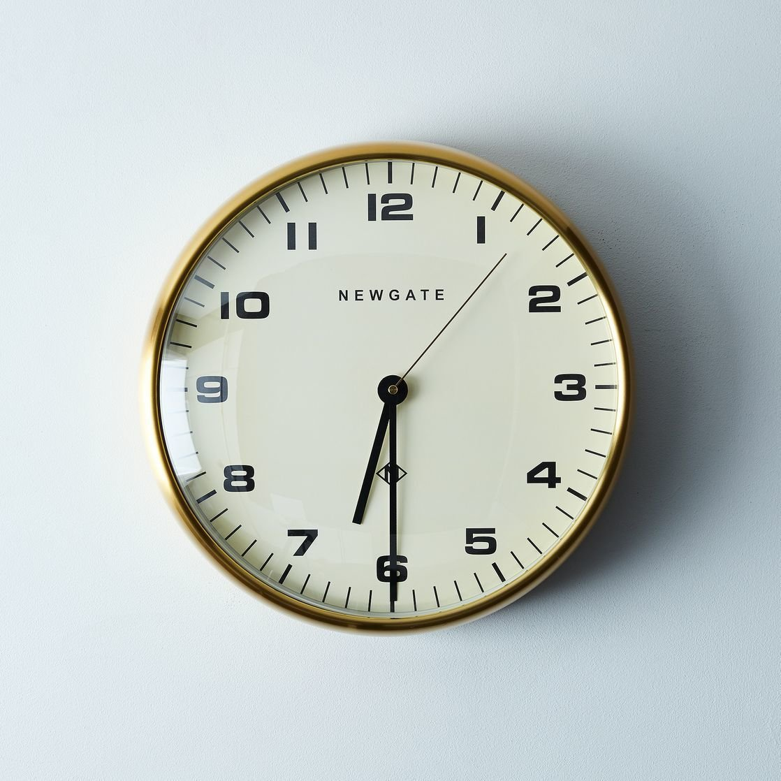 Photo 1 of 1 in Chrysler Brass Wall Clock