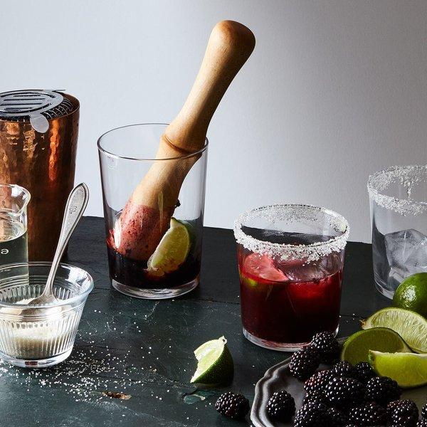 Lathe-Turned Wood Cocktail Muddler