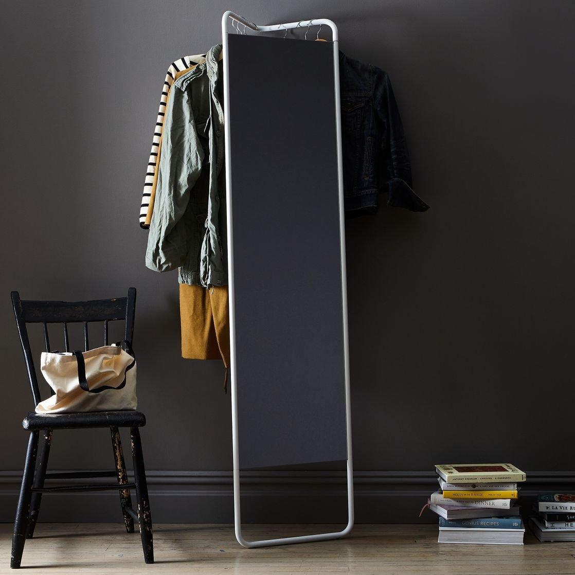 Menu Hanging Storage Floor Mirror
