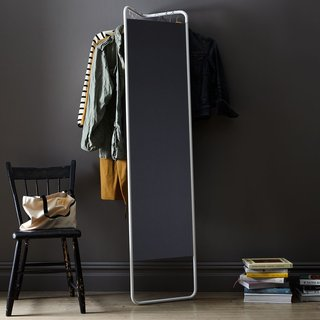 Menu Hanging Storage Floor Mirror
