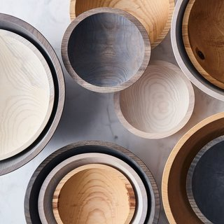 Farmhouse Pottery Handcrafted Wood Bowls