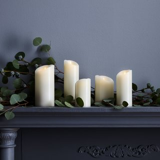 Although a lot of us tend to think a romantic evening isn't complete without candles, these can certainly be a problem with little ones running around. Thankfully, you can still enjoy the beloved calming glow with faux flameless candles. This option will save on replacement costs and also offer a higher level of safety for your children.