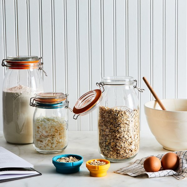 Measure & Store Jars (Set of 3)