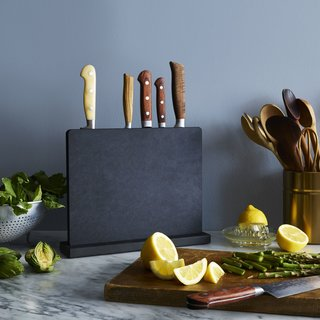 Epicurean Matte Black Knife Block