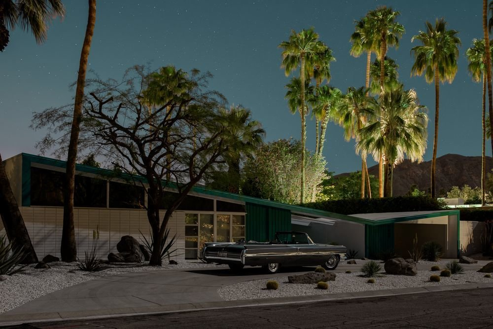 Photo 10 of 16 in Here's Palm Springs In All Its Nighttime Glory
