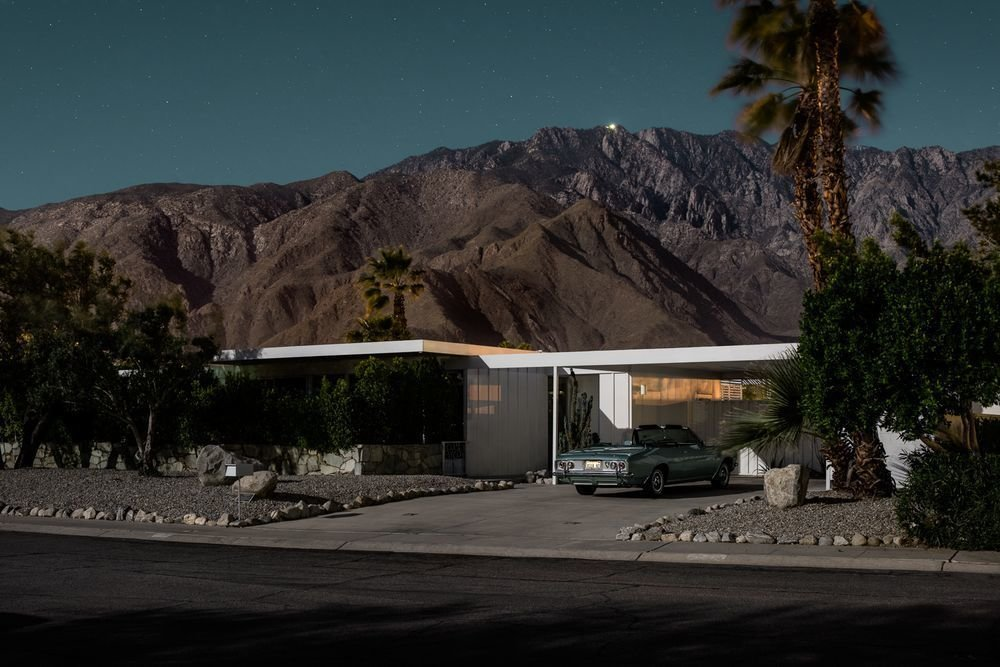 Photo 12 of 16 in Here's Palm Springs In All Its Nighttime Glory