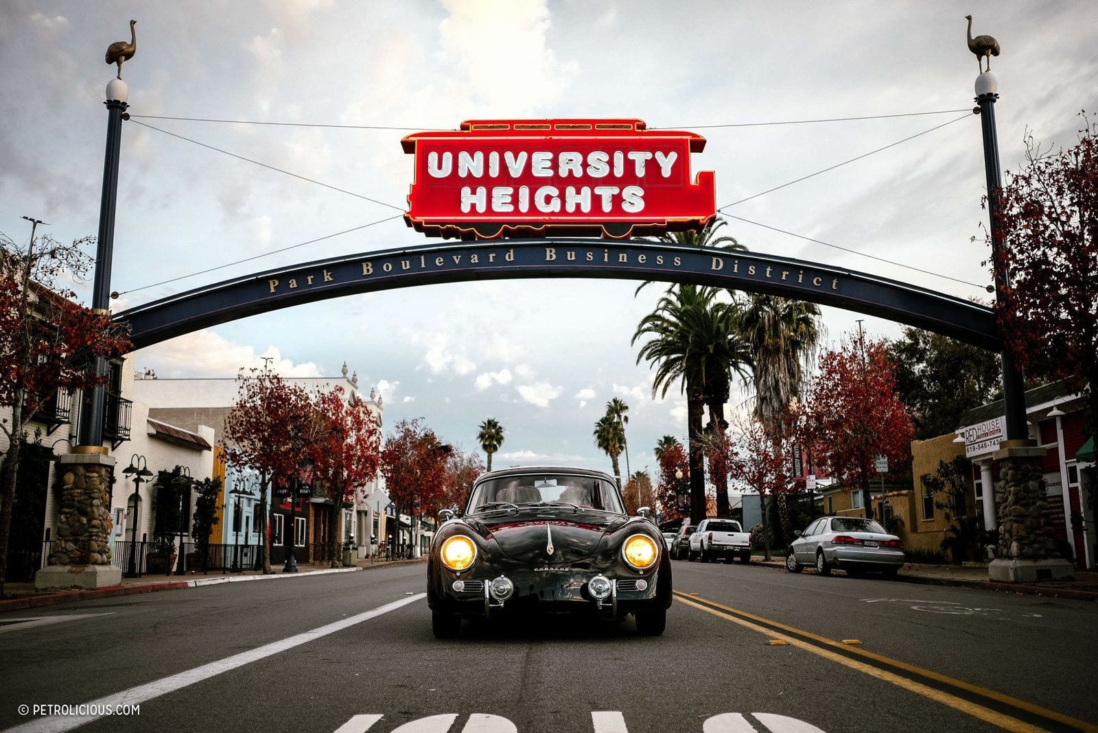 Photo 14 of 16 in This Stunning Outlaw 356 Can Be Found Cruising The Streets Of San Diego