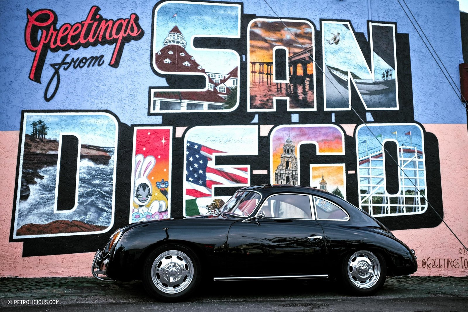 Photo 1 of 16 in This Stunning Outlaw 356 Can Be Found Cruising The Streets Of San Diego
