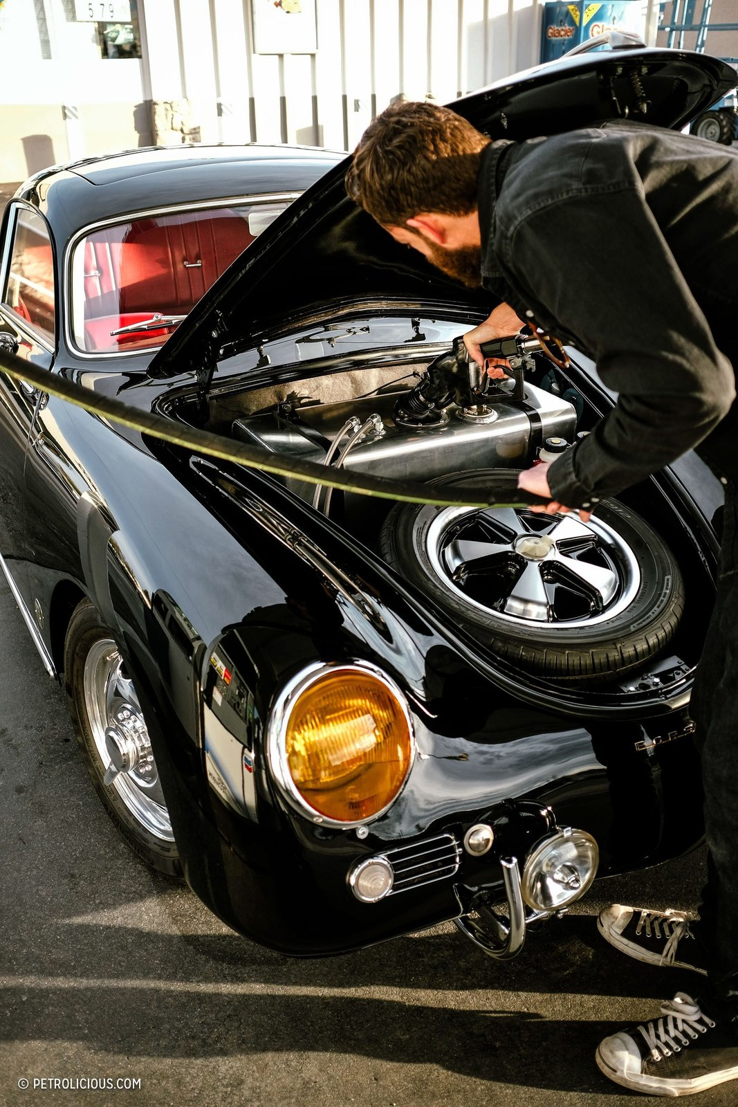 Photo 13 of 16 in This Stunning Outlaw 356 Can Be Found Cruising The Streets Of San Diego