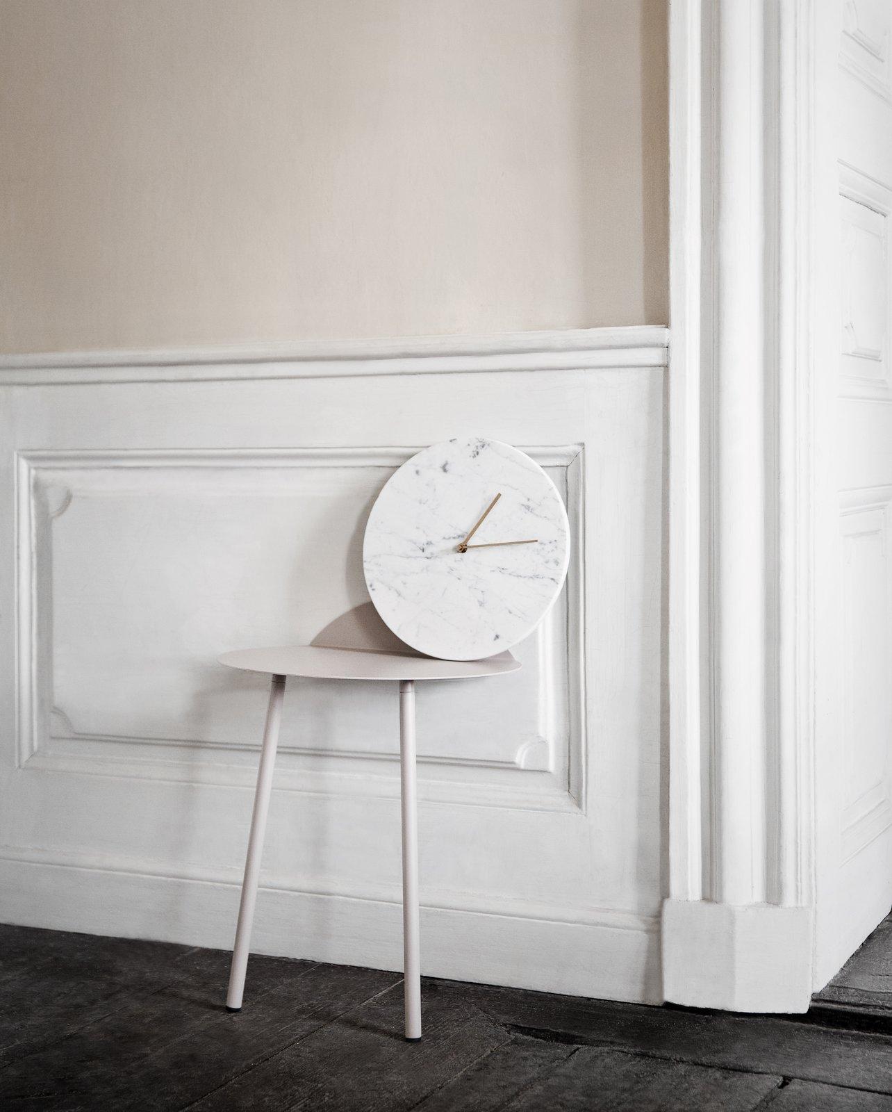 Photo 1 of 1 in Menu Marble Wall Clock