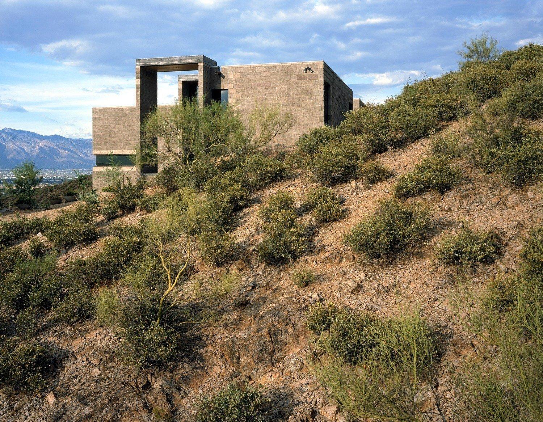 #modern #garciaresidence #ibarrarosanodesignarchitects #architecture #landscape #exterior #arizona #yard #desert #outdoor  Photo 13 of 23 in 20 Desert Homes
