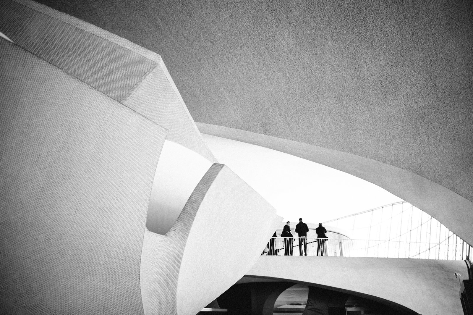 TWA Flight Center by Eero Saarinen