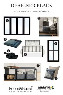 Diagnosing Your Designer Black Style: Three Rooms, Three Ways - Photo 2 of 3 -