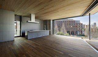 Folding Roof House by Ashida Architect & Associates