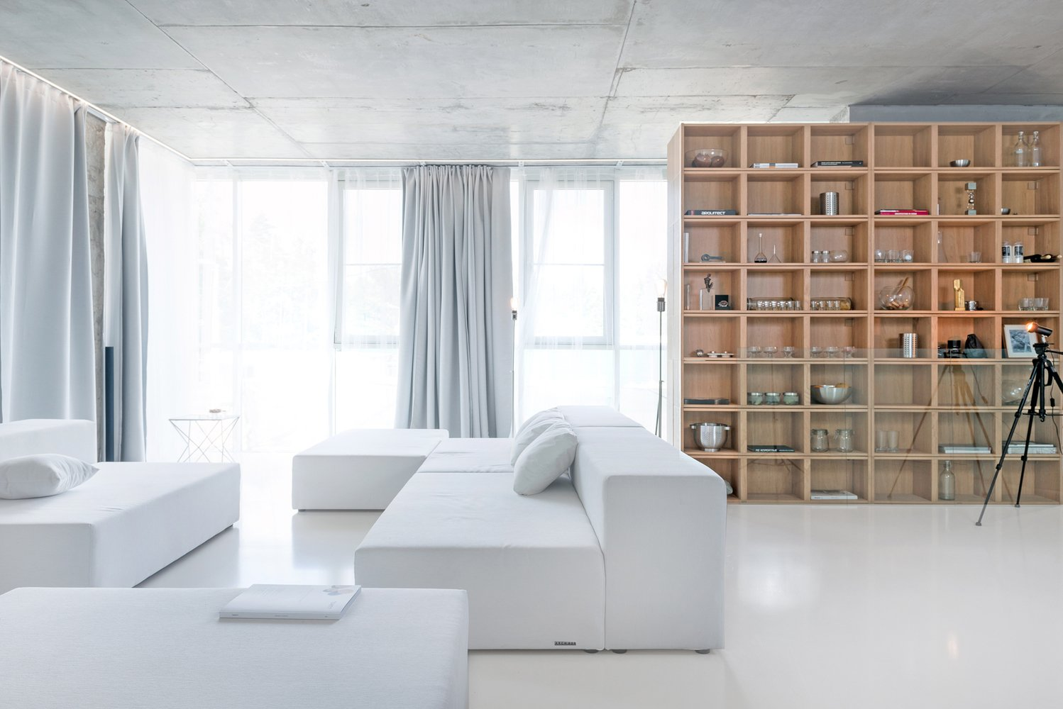Photo 1 of 4 in Apartment W_G+BETON by ARCH.625