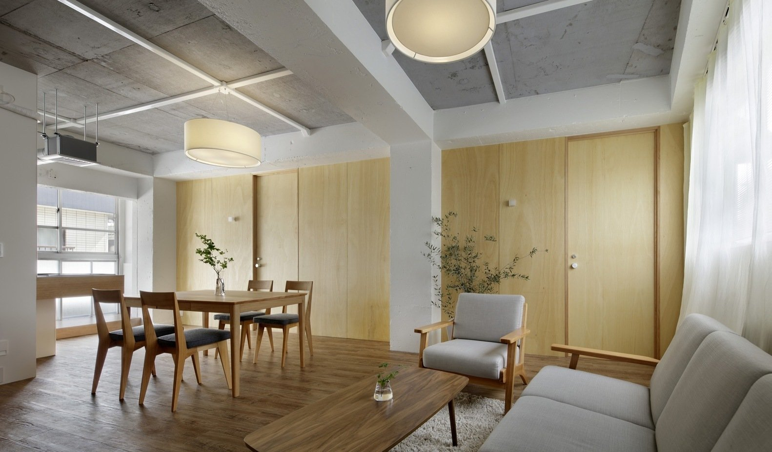 Photo 1 of 4 in Serviced Apartments in Otsuka by Takashi Nishitani Architects