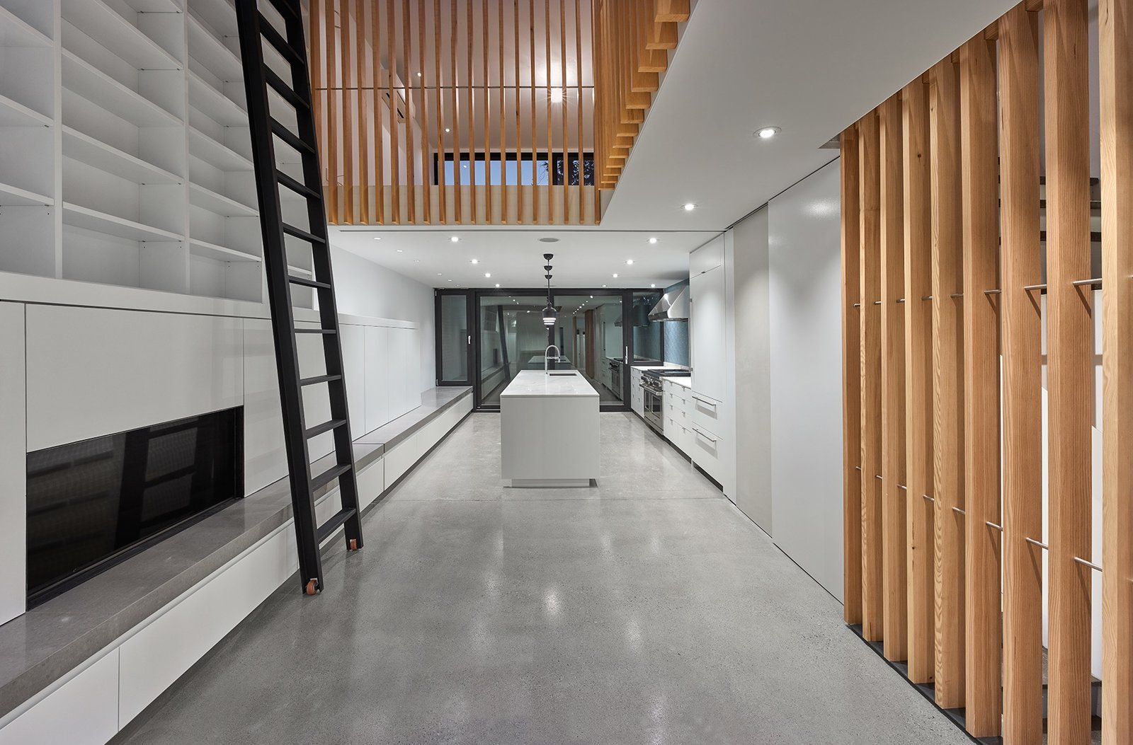 Photo 1 of 5 in Atrium House by RobitailleCurtis