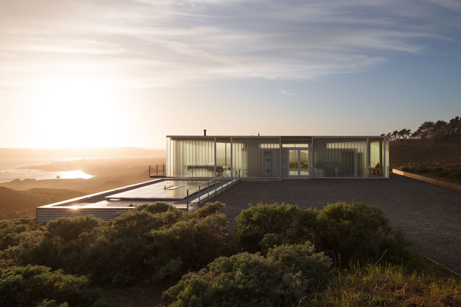 Photo 5 of 5 in Glass House on California's North Coast