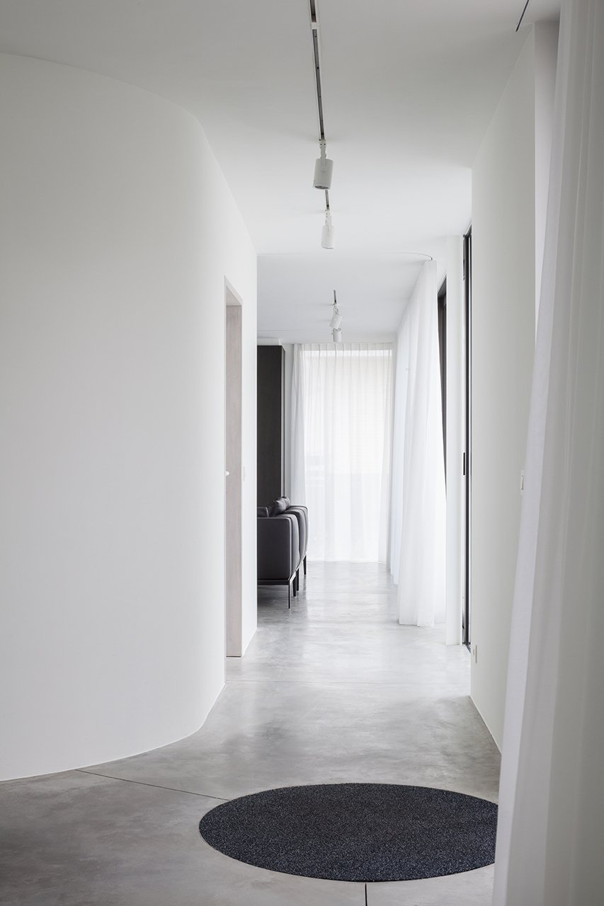 Hallway and Concrete Floor  Photo 2 of 7 in Villa CD by Office O Architects
