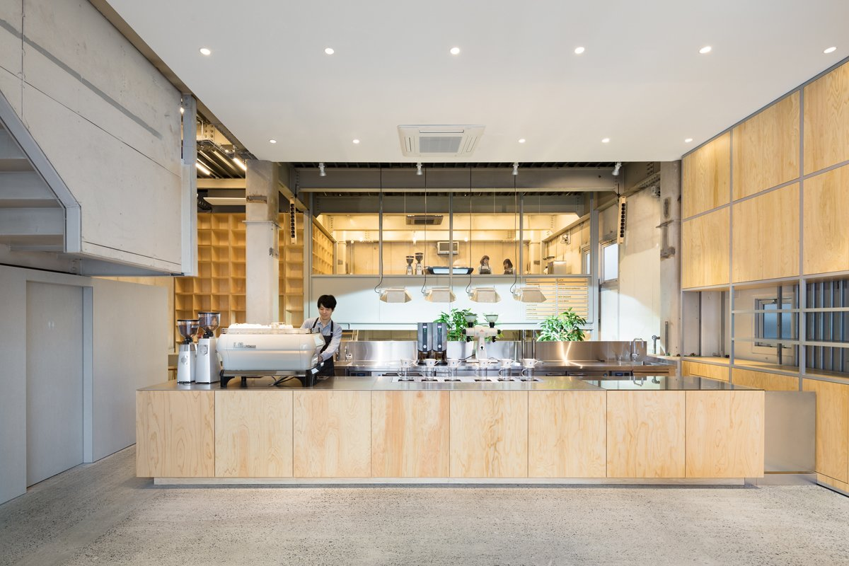 Photo 3 of 6 in Blue Bottle Coffee Nakameguro Cafe by Schemata Architects