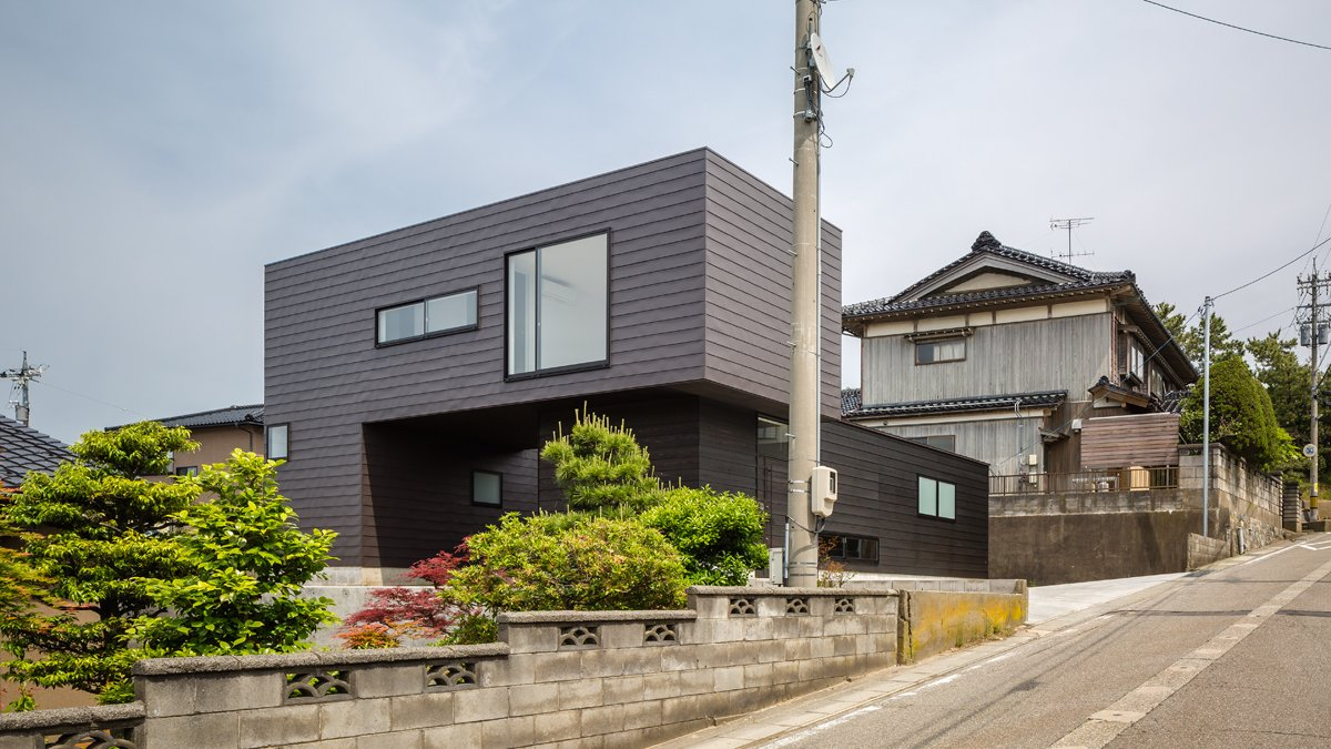 Photo 1 of 7 in Residence in Sotohisumi by Nakasai Architects