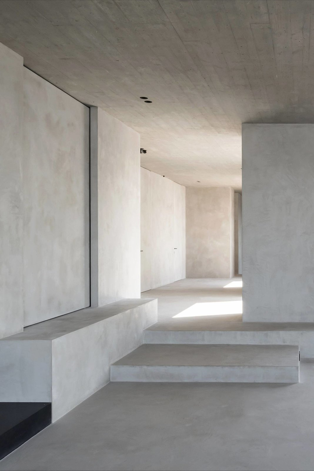 Hallway and Concrete Floor  Best Photos from C Penthouse by Vincent Van Duysen