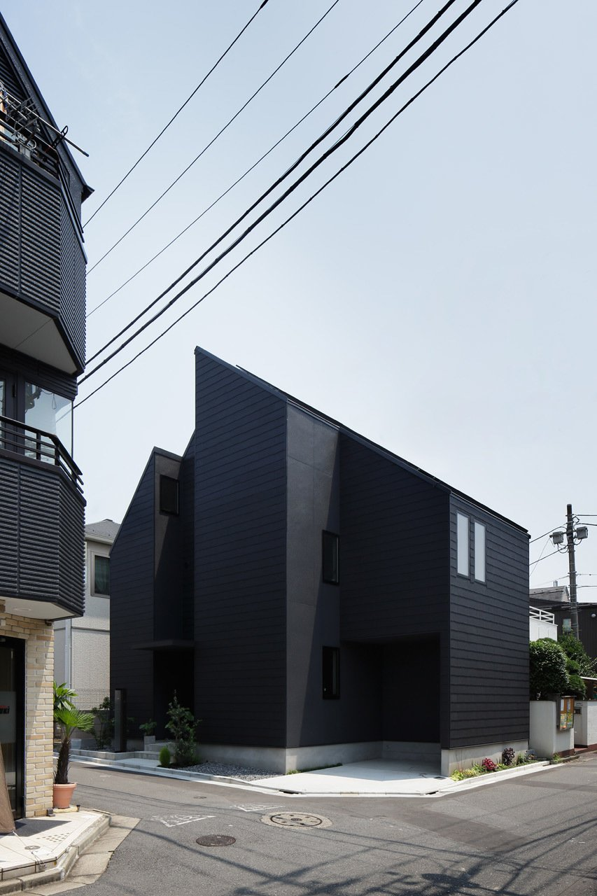 Exterior and House Building Type  Photo 4 of 10 in Follow Us to 10 Modern Homes in Tokyo from Shift House by Kino Architects