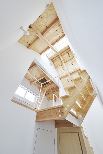 Photo 7 of 9 in House in Suwamachi by Kazuya Saito Architects