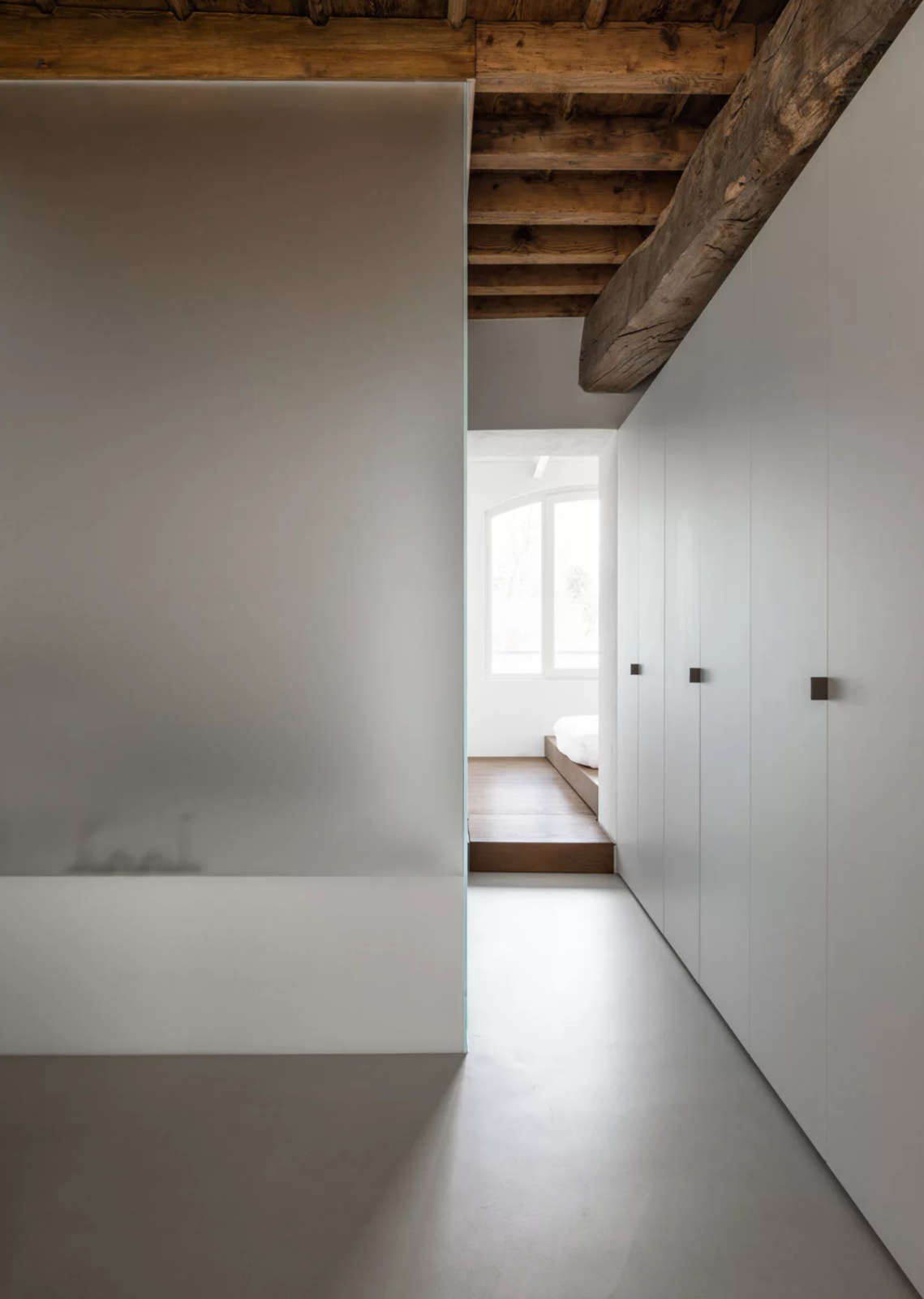 Hallway and Concrete Floor  Photo 5 of 11 in 10 Exquisitely Modern Homes in Italy from Casa A.G. by duearchitetti