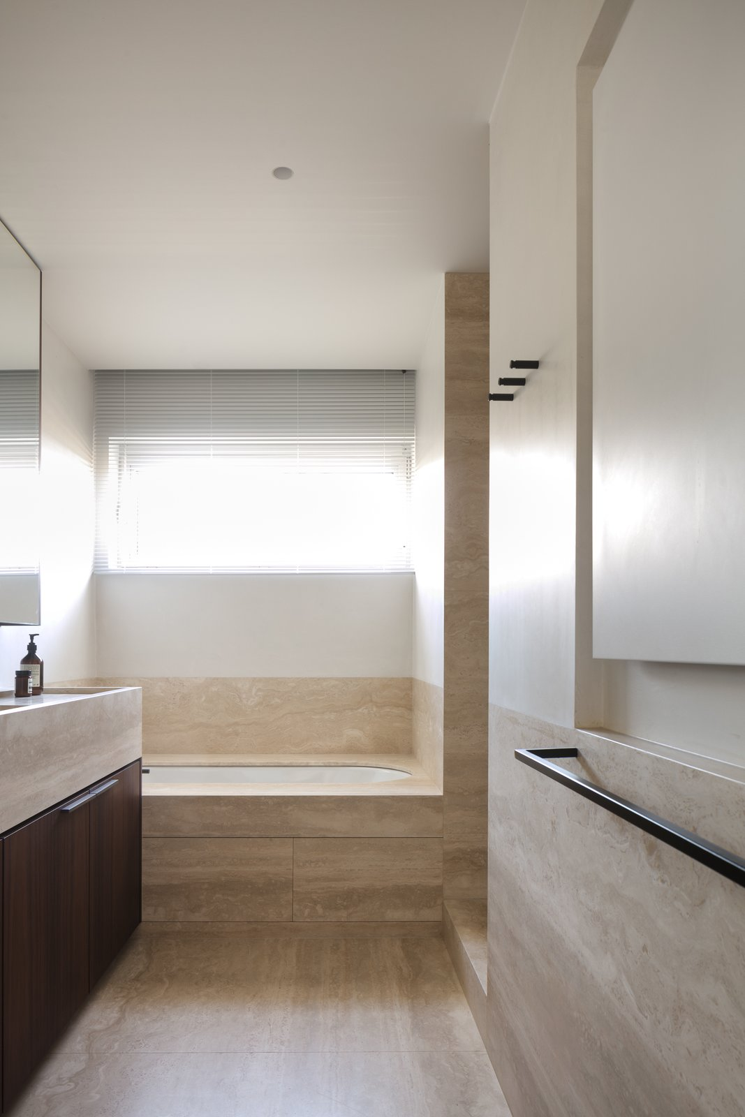 Bath Room, Soaking Tub, and Undermount Tub  Photo 16 of 21 in BC House by Dieter Vander Velpen
