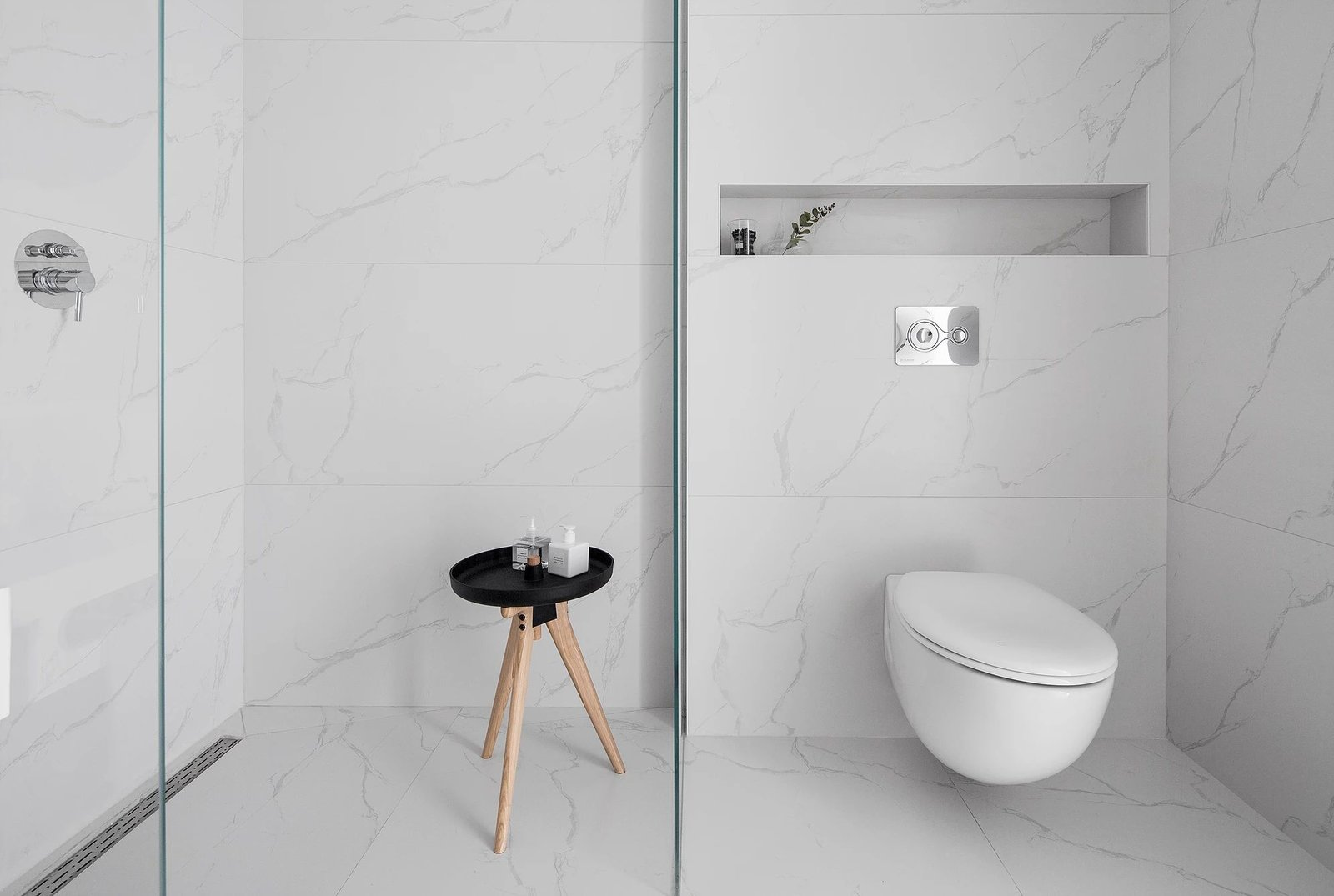 Bath, Marble, Marble, and One Piece  Best Bath Marble Marble One Piece Photos from S|H Apartment