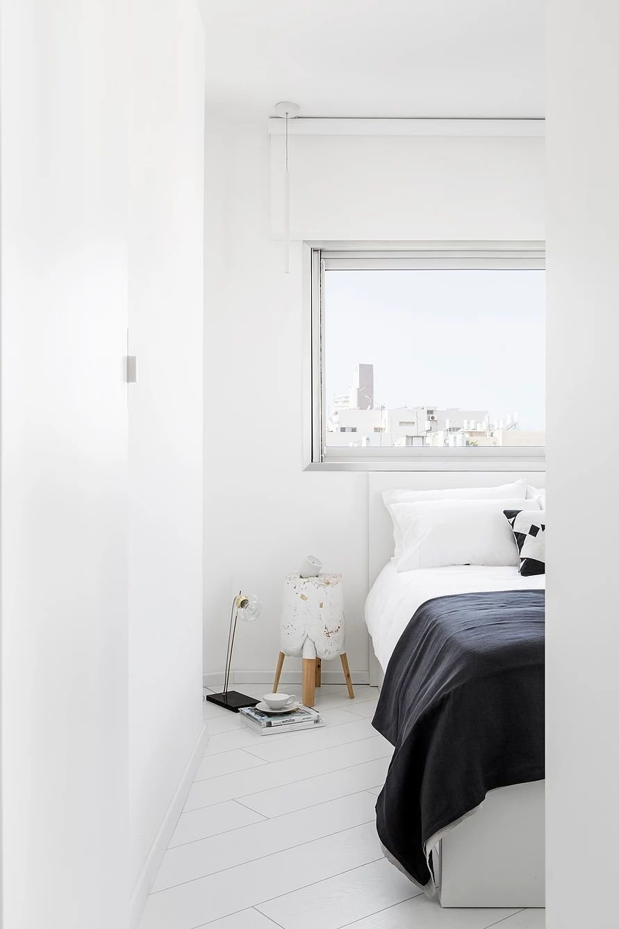 Bedroom and Bed  S|H Apartment