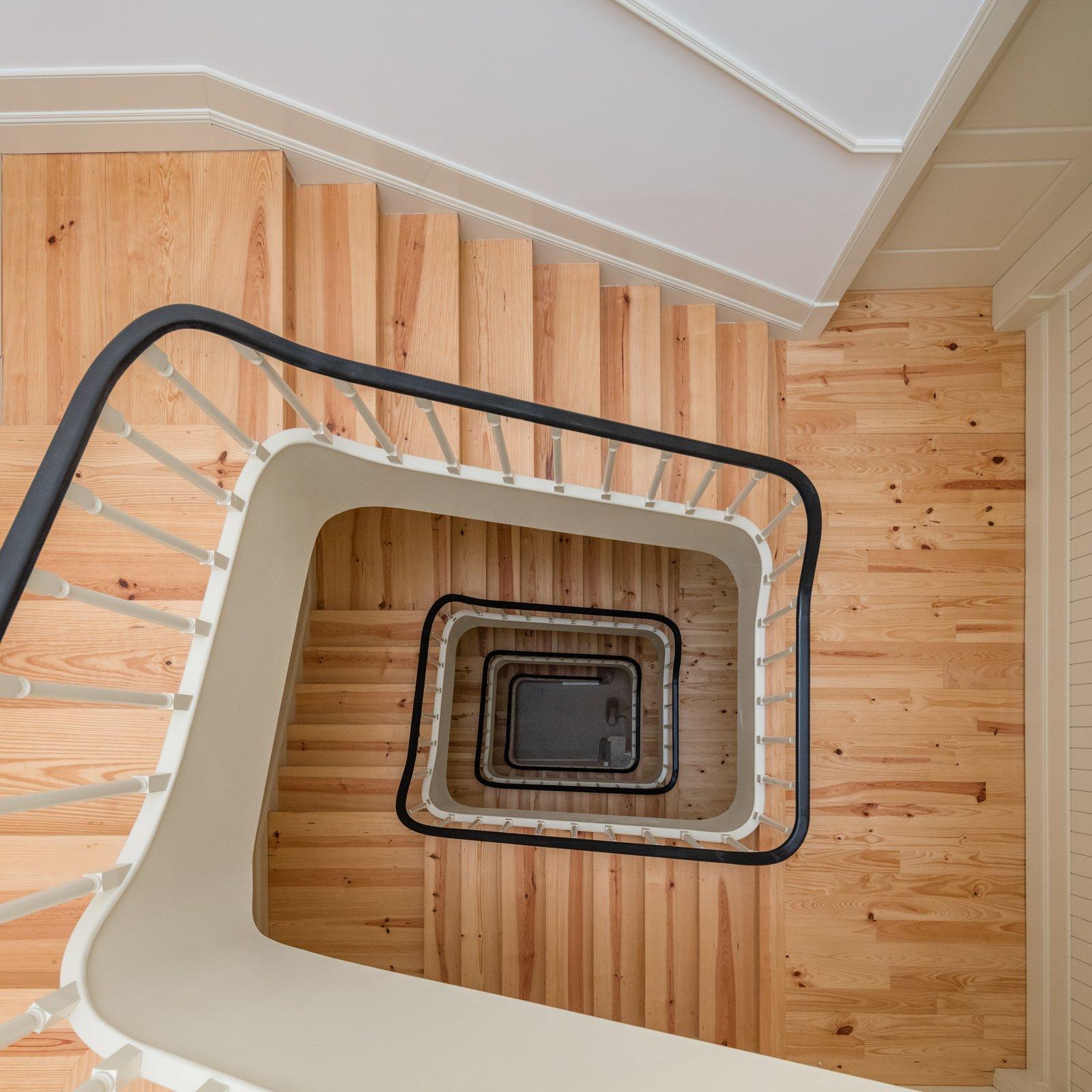 Staircase and Wood Tread  Rua da Boavista