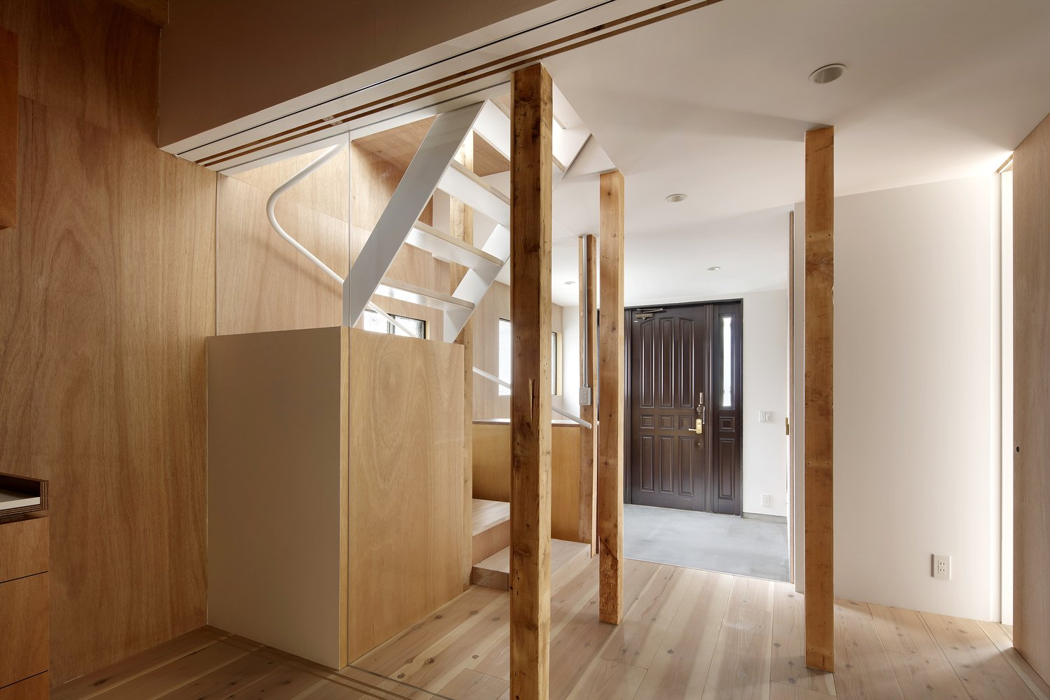 Staircase  House for Four Generations