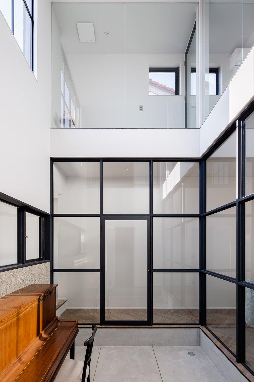 Windows, Picture Window Type, and Metal  Residence in Takariya