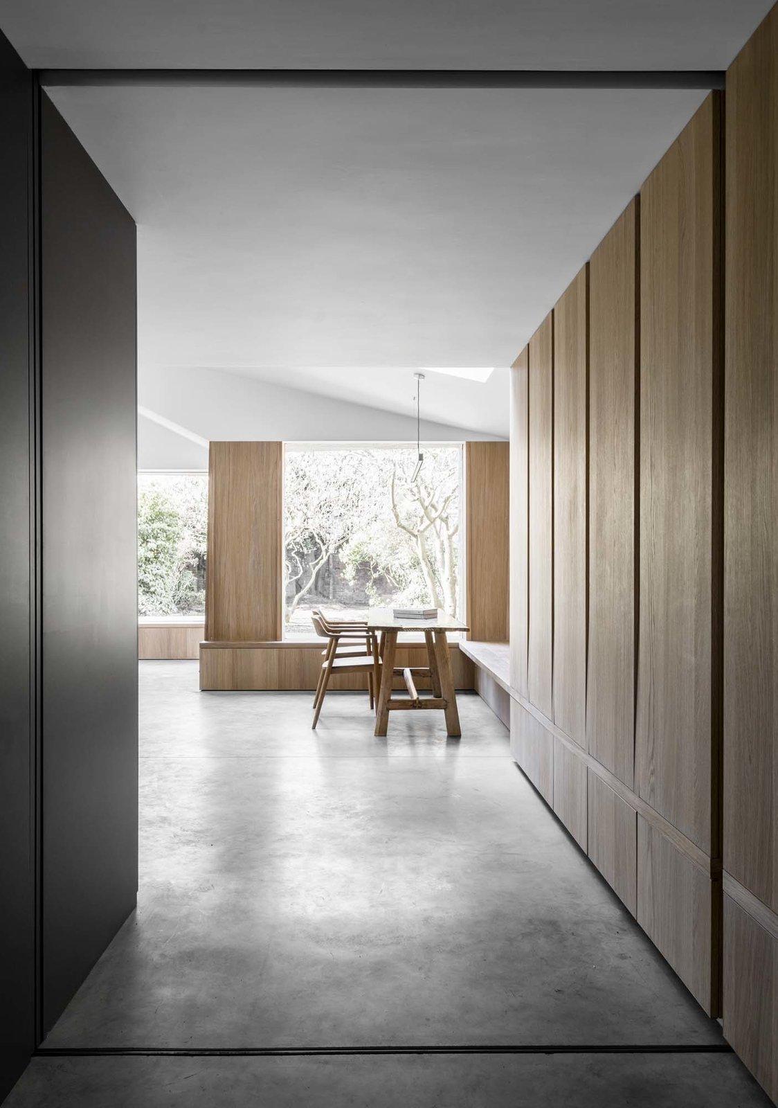Hallway and Concrete Floor  Kew