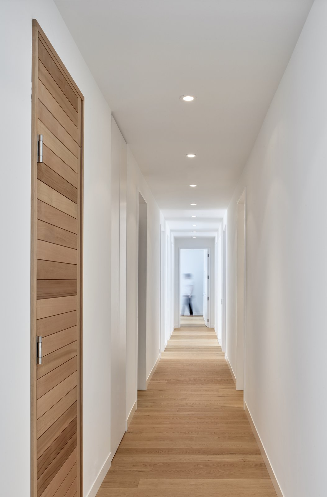 Hallway and Light Hardwood Floor  Alta Chalet