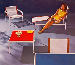 Original advertisement for The Leisure Collection, 1966. Image from the Knoll Archive.